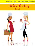 Akiko and Amy Part 3 – Work